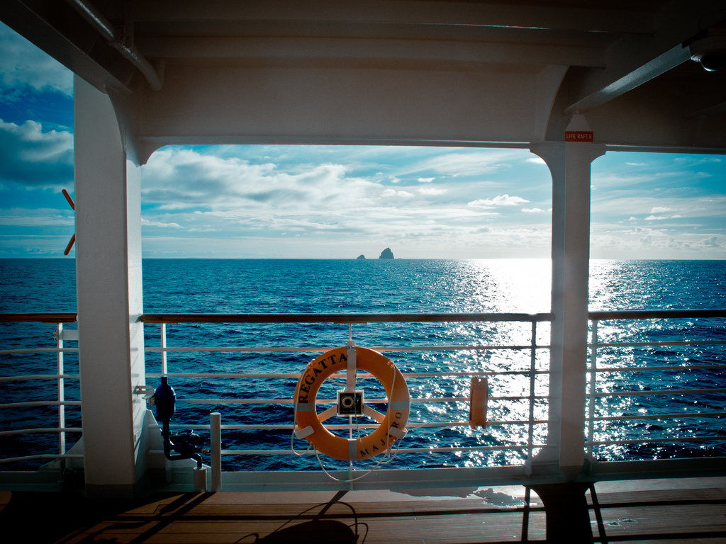 On Board Ship - The Oceana Regatta