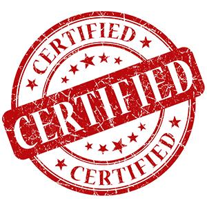 certified x300